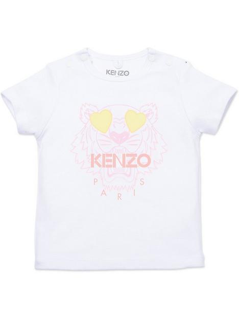 kenzo-baby-girl-tiger-logo-t-shirt-white