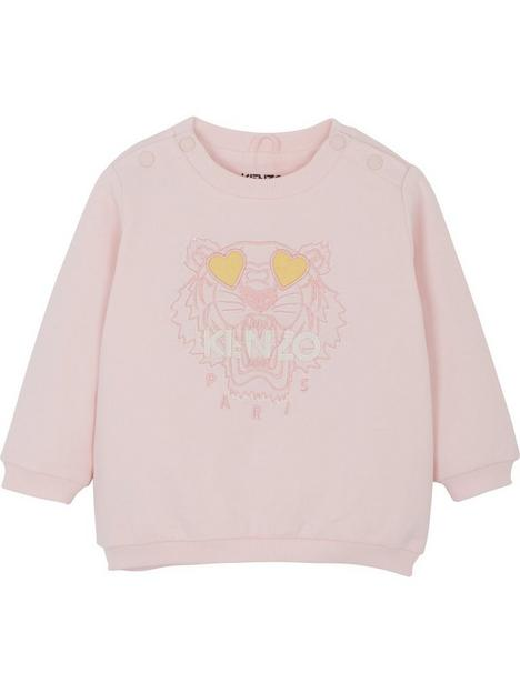 kenzo-kenzo-baby-girl-tiger-sweatshirt-light-pink