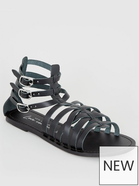 new-look-leather-strappy-gladiator-sandals-blacknbsp