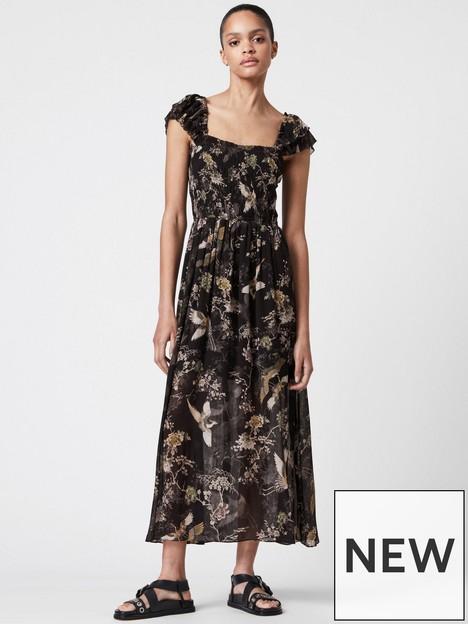 allsaints-mali-amare-dress-black