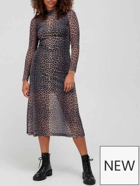 allsaints-hanna-leopard-print-dress-taupe-brown