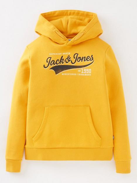 jack-jones-junior-boys-logo-hoodie-gold