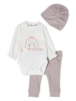 River Island Baby Girls Limited Edition 2 Piece Set - Purple, Pink, Size 9-12 Months