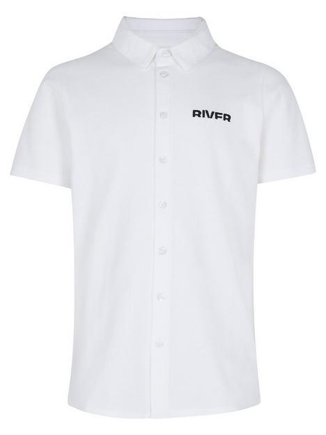 river-island-boys-pique-short-sleeve-polonbspshirtnbsp-nbspwhite