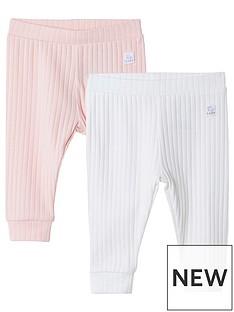river-island-baby-girls-pink-ribbed-leggings-2-pack