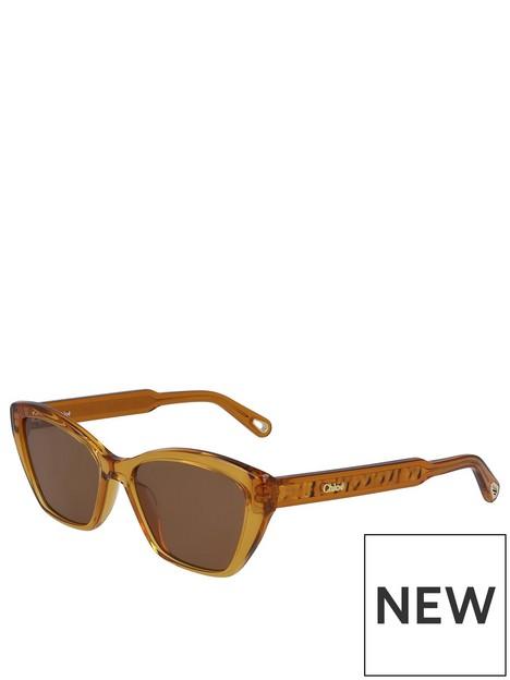 chloe-rectangle-sunglasses-brown