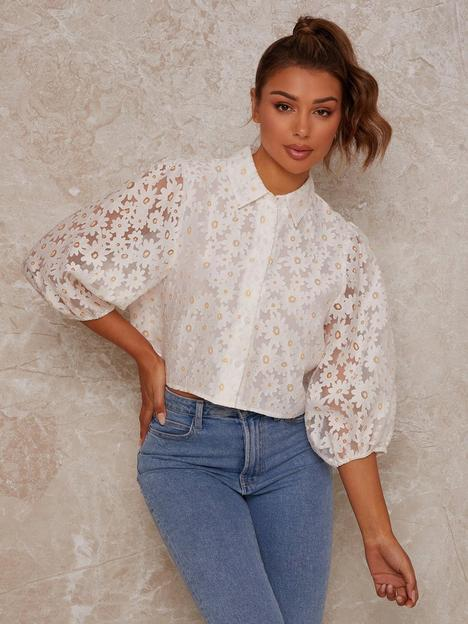 chi-chi-london-floral-organza-blouse-whitenbsp