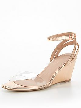 new-look-ankle-strap-wedge-rose-gold