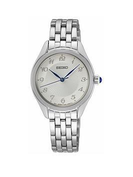 seiko-seiko-silver-dial-blue-hands-stainless-steel-bracelet-ladies-watch