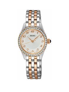 seiko-seiko-white-dial-stainless-steel-gold-tone-ladies-watch