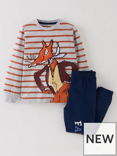 roald-dahl-fantastic-mr-fox-stripe-long-sleeve-pyjamas-multi