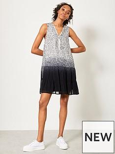 mint-velvet-mint-velvet-molly-print-dip-dye-mini-dress