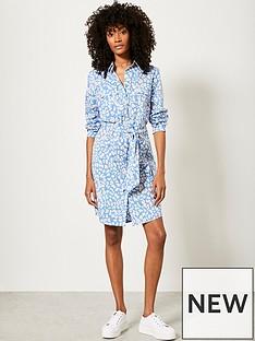 mint-velvet-mint-velvet-alex-animal-print-cotton-mini-dress