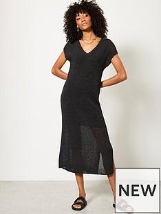 mint-velvet-mint-velvet-metallic-dress