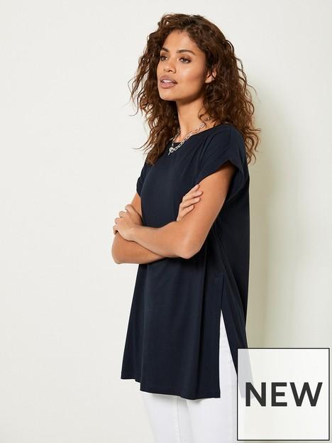 mint-velvet-longline-side-split-t-shirt