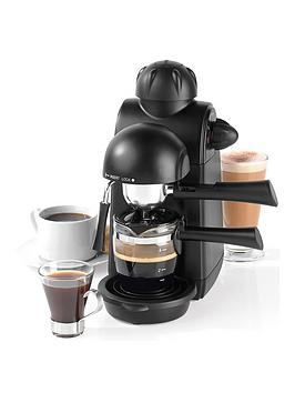 Salter Ek3131 Espressimo Barista Style Coffee Machine With Tempered Glass Cup