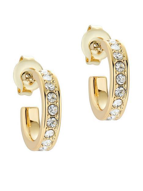 ted-baker-seenita-nano-hoop-huggie-earring-gold