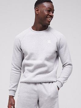adidas-originals-essential-crew-sweat-top-medium-grey-heather