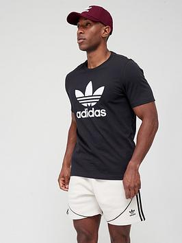 adidas-originals-californianbsptrefoil-t-shirt-blackwhite