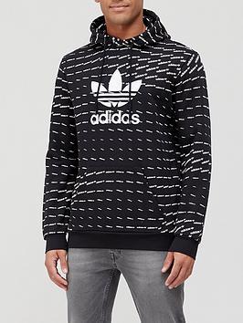 adidas-originals-mono-trefoil-hoodie-blackwhite
