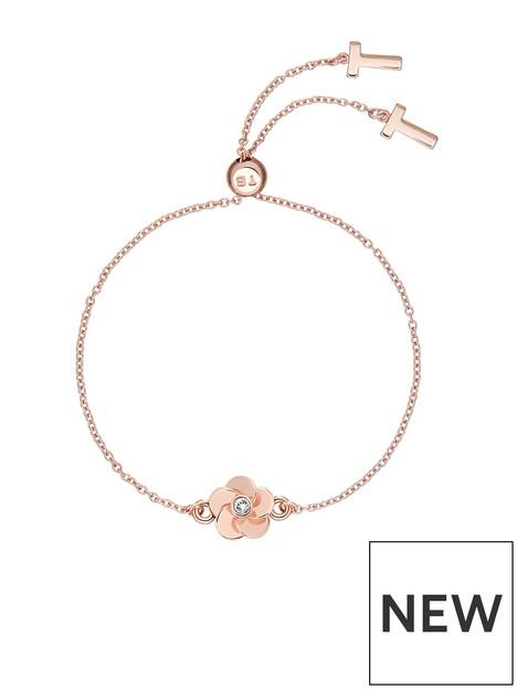 ted-baker-pelanna-polished-flower-drawstring-bracelet-rose-gold
