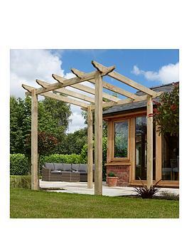 rowlinson-traditional-wooden-pergola