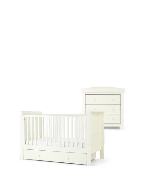mamas-papas-mia-sleigh-cot-bed-set