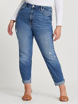 ri-plus-carrie-coulee-high-waisted-mom-jeannbsp--blue