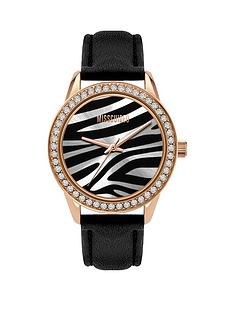 missguided-missguided-zebra-print-dial-black-strap-watch