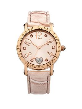 lipsy-heart-detail-dial-nude-strap-watch