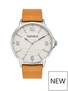 timberland-white-dial-tan-strap-watch