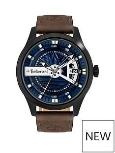 timberland-timberland-blue-dial-dark-brown-strap-watch