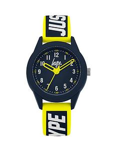 hype-blue-yellow-strap-kids-watch