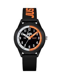 hype-black-orange-kids-watch