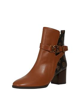 guess-pertesa-block-heel-boots-brown