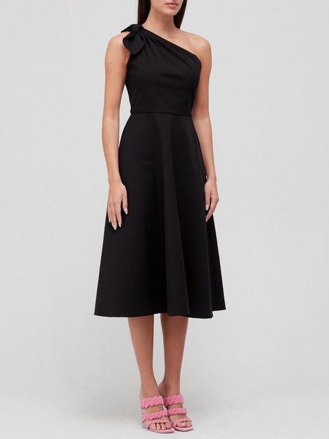 kate-spade-new-york-twill-one-shoulder-dress-black