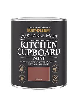 Rust-Oleum Rust-Oleum Kitchen Cupboard Paint Fire Brick 750Ml