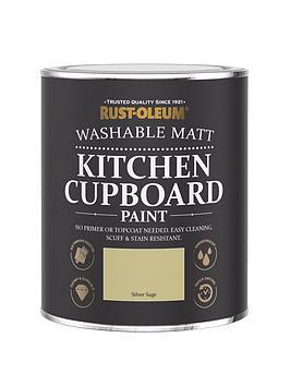Rust-Oleum Rust-Oleum Kitchen Cupboard Paint Silver Sage 750Ml