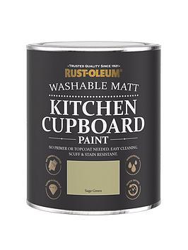 Rust-Oleum Rust-Oleum Kitchen Cupboard Paint Sage Green 750Ml