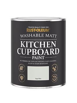 Rust-Oleum Rust-Oleum Kitchen Cupboard Paint Sage Mist 750Ml