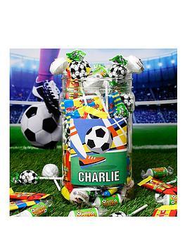 football-fan-sweet-jar