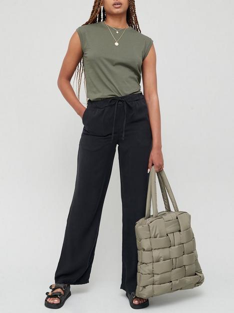 v-by-very-elasticated-waist-soft-touchnbspwide-legnbsptrouser-black
