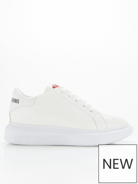 love-moschino-patent-croc-chunky-sole-trainers-white