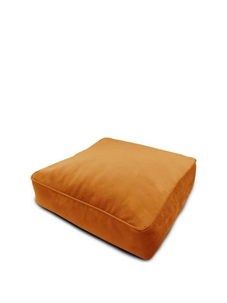 rucomfy-velvet-square-floor-cushion