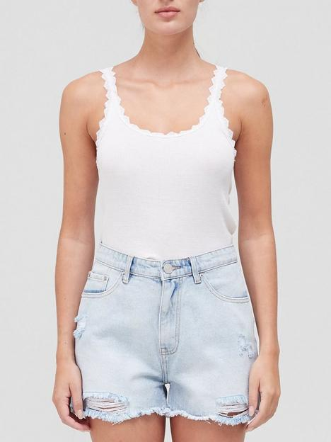 coster-copenhagen-silk-trim-camisole-white