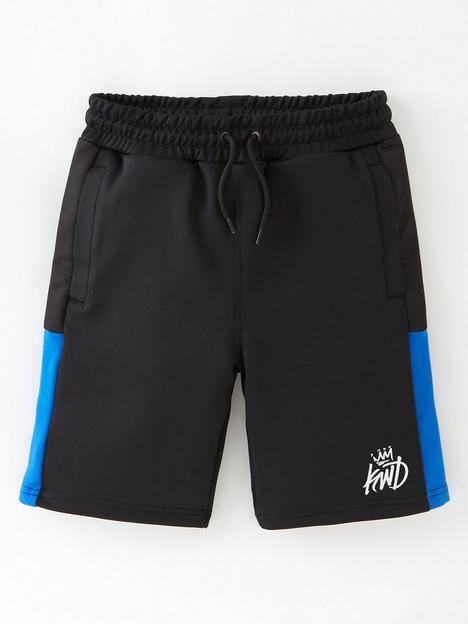 kings-will-dream-junior-nylow-jog-short-blackbluenbsp