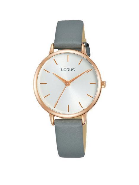 lorus-classic-grey-strap-watch