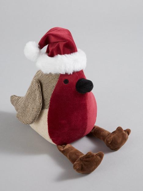 festive-22-cm-robin-with-santa-hat-door-stop