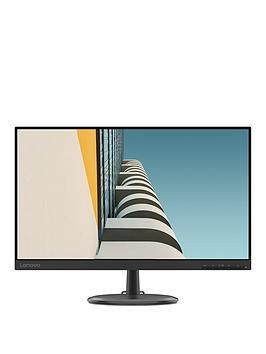 Lenovo C24-25 Full Hd 23.8In Va Lcd Hdmi Monitor - Black