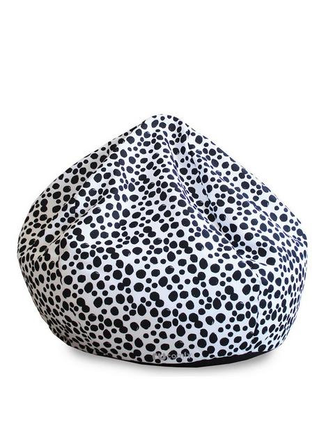 rucomfy-dalmatian-spot-mini-slouch-beanbag
